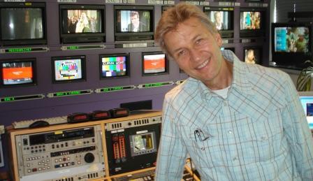 Radiodiskjockey Jørgen de Mylius