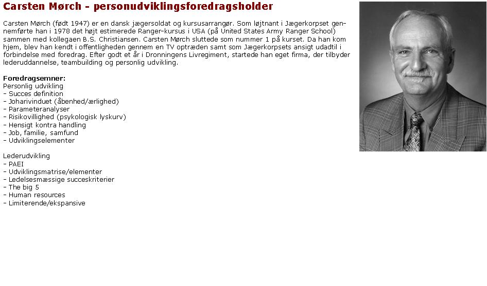 ::Carsten Mørch - personudviklingsforedragsholder::