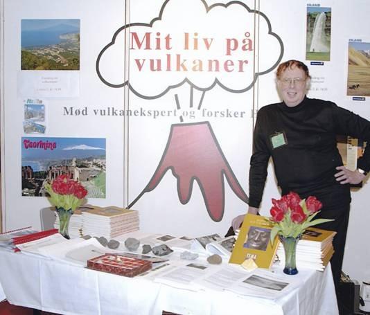 Henning Andersen - vulkanoplægsekspert