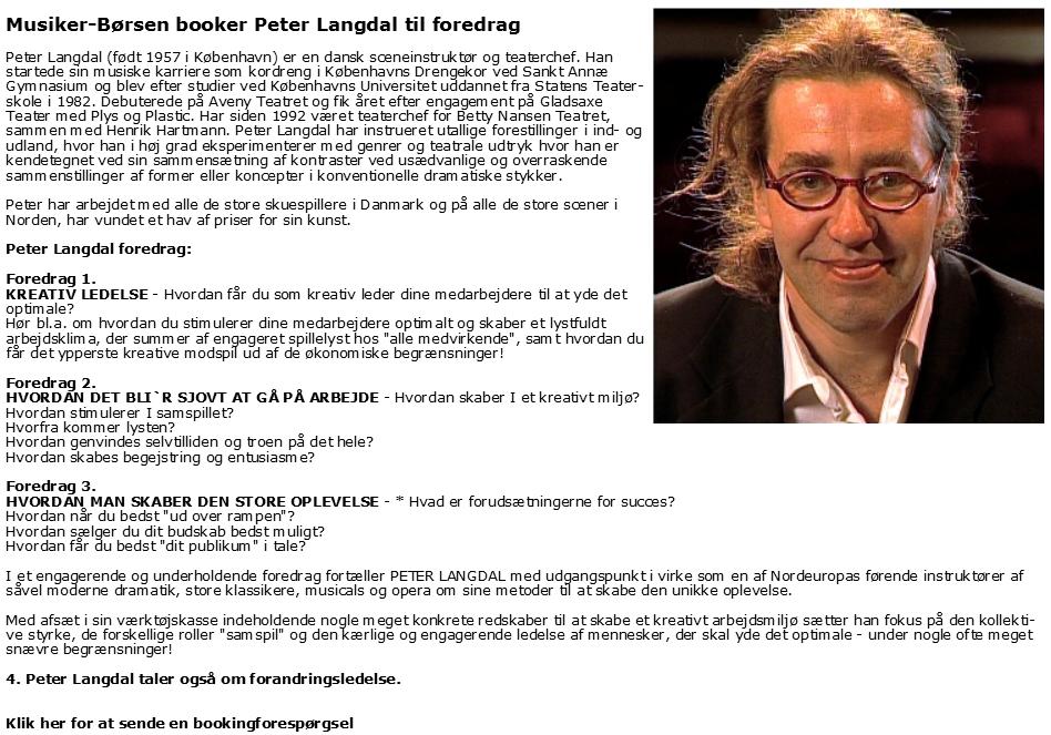 Peter Langdal - engageret - teamwork